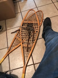 Snow shoes antique hang on the wall or use