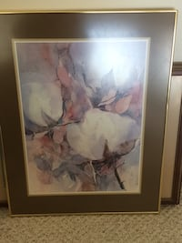 white and brown petaled flower painting Brownwood, 76801