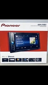 Pioneer AVH-210EX Double DIN Bluetooth In-Dash DVD/CD AM/FM  Gardena, 90249