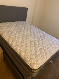 Once used full size mattress and box spring  Baltimore, 21239