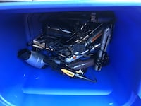 Bin of hair curlers Charlotte, 28214