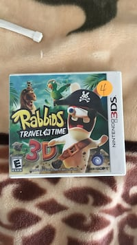 Rabbits Travel in Time Nintendo 3 DS Los Angeles, 91402