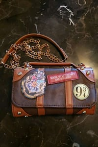 Harry Potter luggage purse with attached wallet