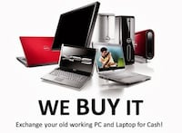 sell your new or used laptop for cash Toronto