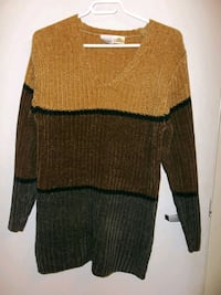 Long neutral color cabin sweater Kitchener, N2G 4X6