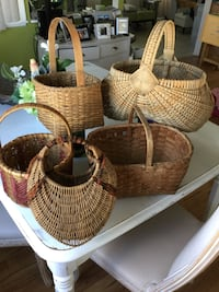 Handmade Collectible Baskets, 1 Native American  Largo, 33778