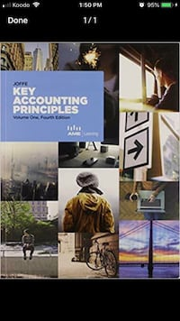 key accounting principles, 4th edition, volume 1 with workbook.  Toronto, M2M