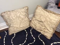 "Accent cushions. 24""x24"".  $10 for both"