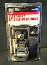 Heavy Duty Ratchet Strap (Black) NEW IN BOX  Silver Spring, 20906