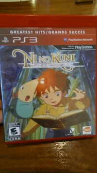 Ni No Kuni: Wrath of the White Witch for PS3 Innisfil, L9S 4Y5