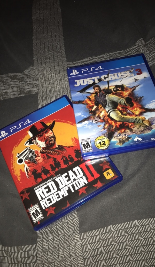 Red dead redemption 2 + just cause 3 (free