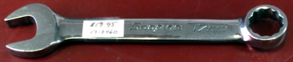 Snap-On 17mm Metric Combination Wrench