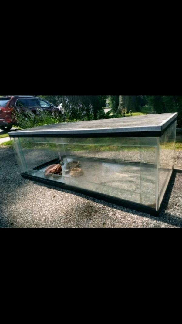 Front Opening Reptile Cages