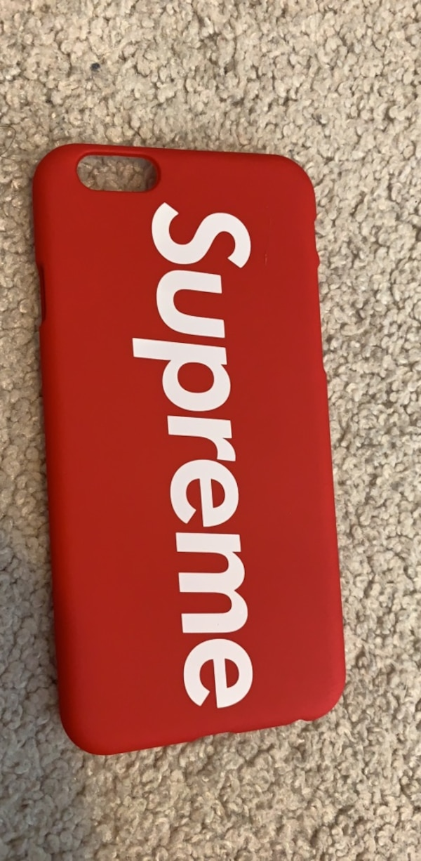 Supreme IPhone 6 case  e5a4e6c9-b316-45f6-885c-8463259e9fc1