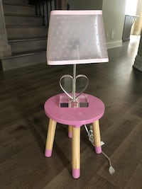 Table and lamp Puslinch, N0B