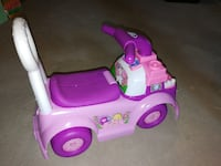 pink and purple ride-on car ALLISTON