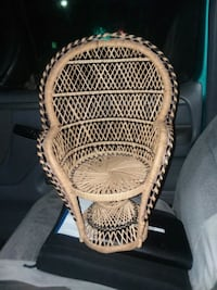 brown wicker basket with lid Spotsylvania Courthouse, 22553