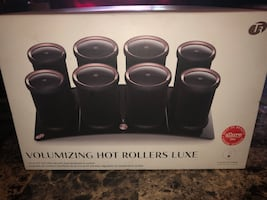 Volumizing Hot Rollers LUXE for Volume, Body, and Shine