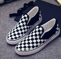 Checkerboard Casual Sneaker
