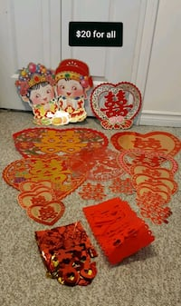 Chinese Double Happiness Decorations
