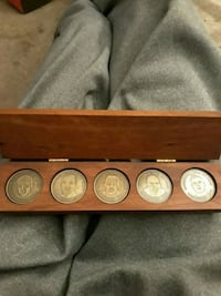 5 UK Hall of Fame Coins