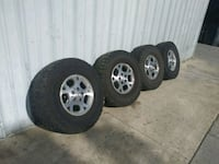 four gray 5-spoke vehicle wheels and tires Hollister, 95023