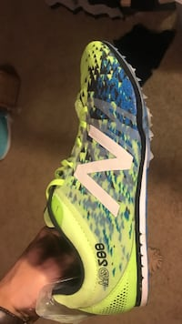New Balance Silent Hunter track spikes. 35$obo.  Omaha, 68154