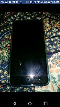 black ZTE Android smartphone with clear case screenshot Granite Falls, 98252