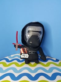 "Disney Star Wars Force Awakens Kylo Ren Plush 6"" New"