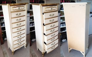 Vintage  5-Drawer Tall Chest