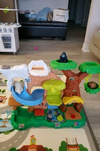 Baby jungle musical toy