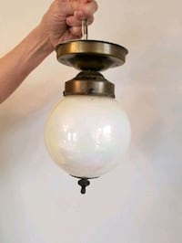 Vintage bronze flush mount light fixture Toronto, M9C 2G9