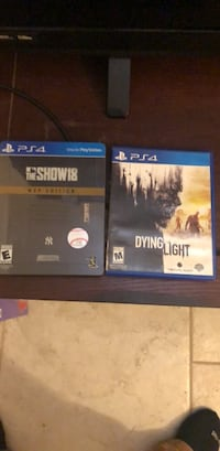 two Sony PS4 game cases Albuquerque, 87108
