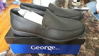 pair of black George loafers on box Eastern Passage, B3G 1S8
