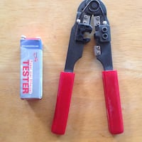 RJ45 Crimper Tool for Networking