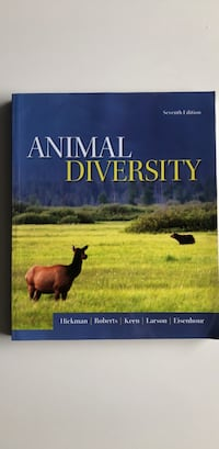Animal Diversity - 7th Edition Toronto, M3C 4C2