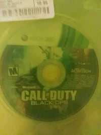 Xbox 360 Call of Duty Black Ops disc with case Knoxville, 37920