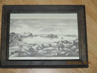 Small framed print NFLD null