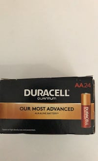 Duracell quantum AA Batteries $15 for box (24 batteries)
