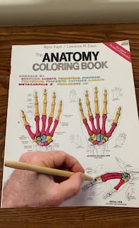 The Anatomy Coloring Book not coloured