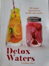 Detox water book  Châteauguay