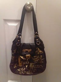 Ed Hardy leather purse  Guelph, N1E 1N2