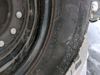 4 winter tires and rims lightly used London, N5W 0A6