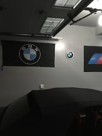 Bmw flag cloth.  Banner bmw