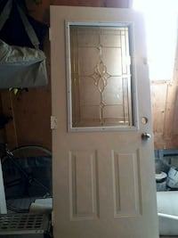 white wooden framed glass door Vaughan, L6A 1Y4