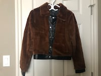 FOREVER 21 FAUX FUR COAT MEDIUM  Edmonton, T5J