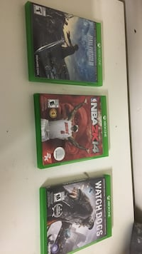 Xbox one games $90 for all