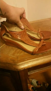 Kenneth Cole reaction wedge sandals 622 mi