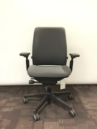 Computer Chair - Ergonomic Made in USA by Steelcase - AMIA Task Chair Markham
