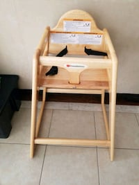 Toddle high chair. Brampton, L6P 3J5